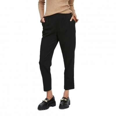Vila Titti RW 7/8 Pants Black