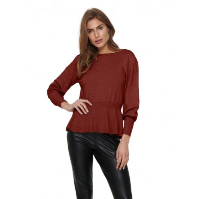 Only Sannalisa LS Knit Red...