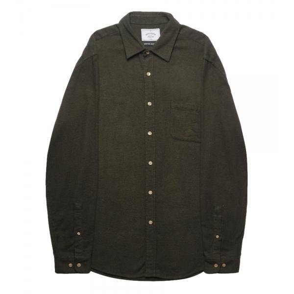 Portuguese Flannel Camisa Teca Green