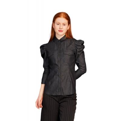 Minueto Live Denim Shirt Black