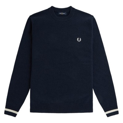 Fred Perry Tipped Crew Neck...